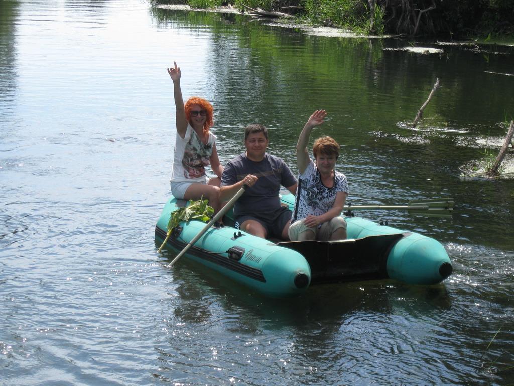сплав на лодках по хопру